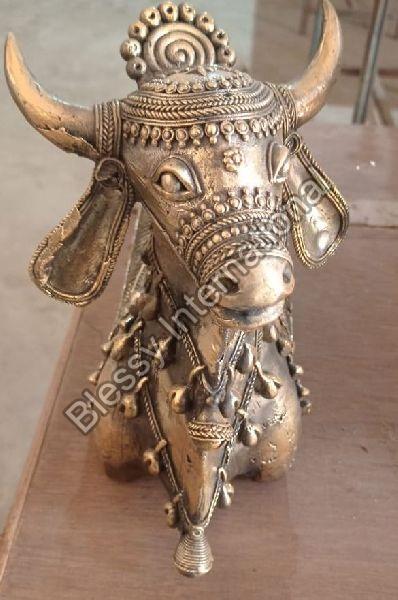 Metal Handicraft Cow