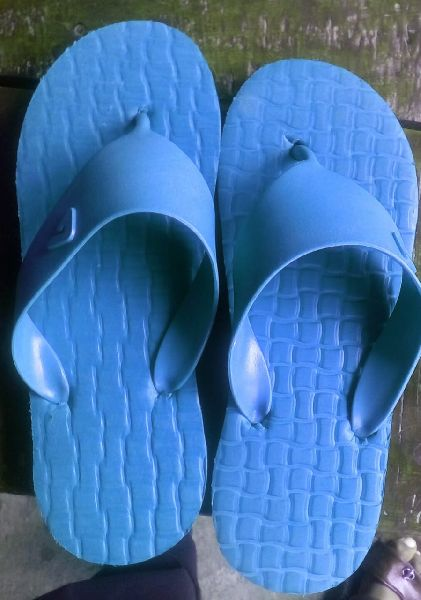 Broad Strap Rubber Slippers