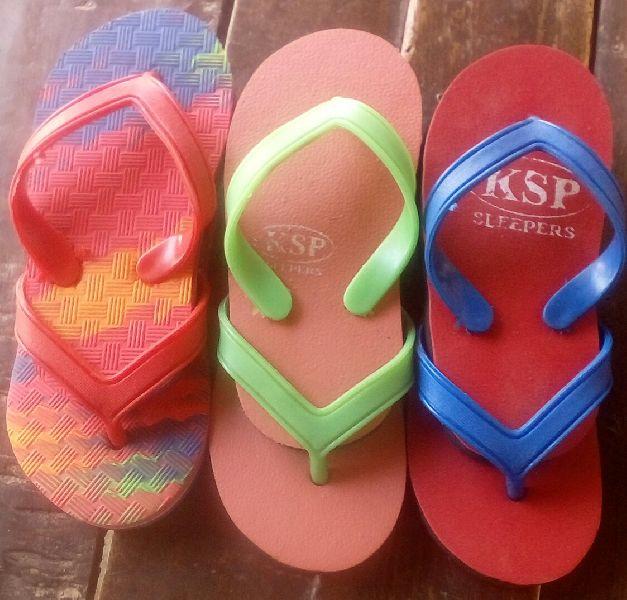 Kids Designer Rubber Slippers