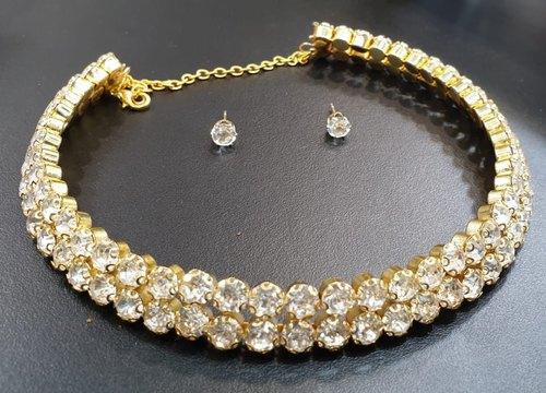 Trendy Choker Necklace Set