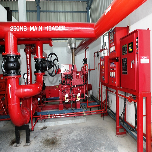 Fire Hydrant Pump System