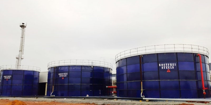 Fire Fighting Water Storage Tanks