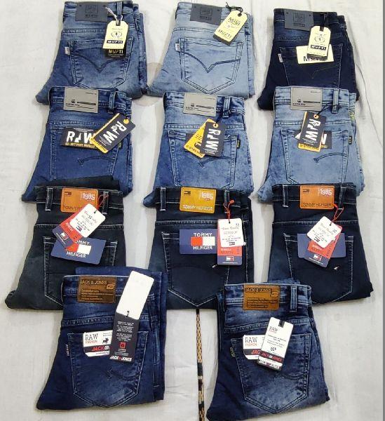 Branded Mens Ankle Fit Denim jeans (115501)