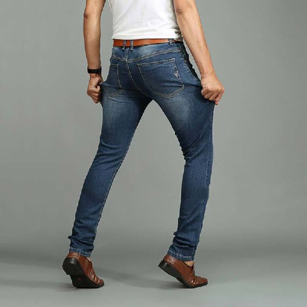 Branded Mens Cotton Knitted jeans