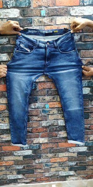 Branded Mens Ankle Fit Denim jeans