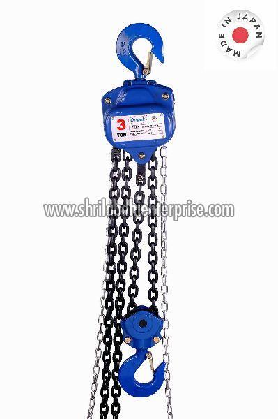 Manual Operating Marine Grade Chain Pulley Block