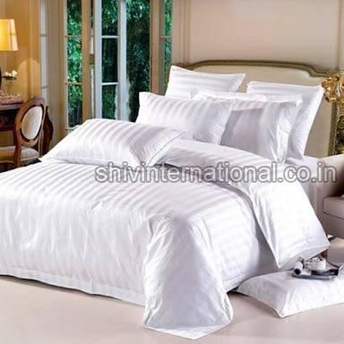 Hotel Striped Bedsheet