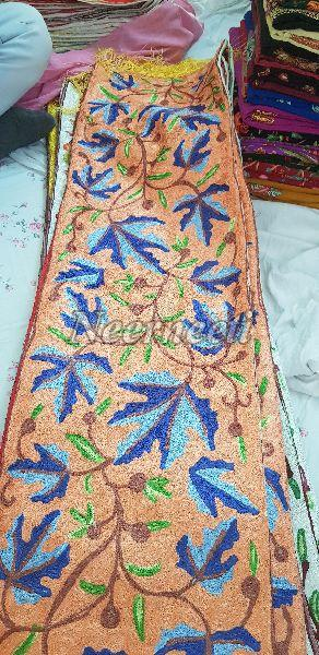 Embroidered Linen Table Runners