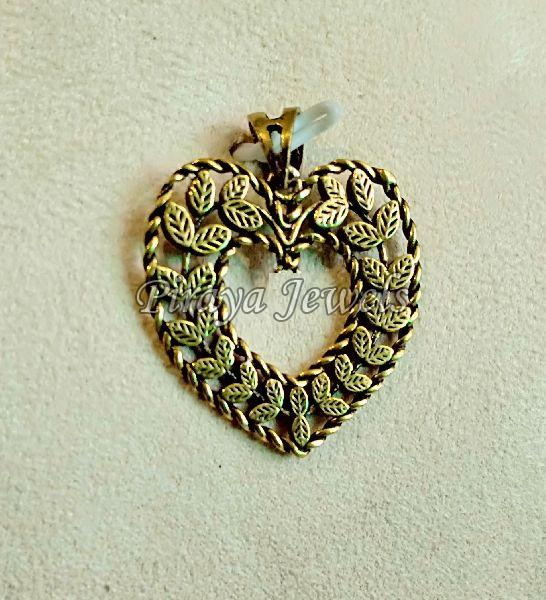 Gold Plated Brass Pendant (P0003)