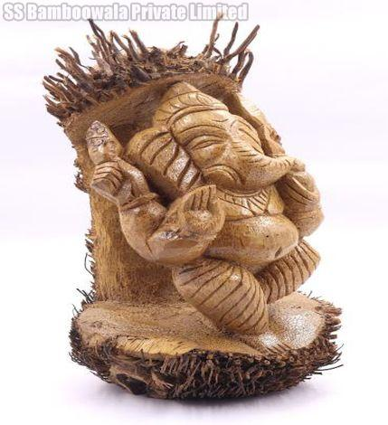 Bamboo Root Carved Statue