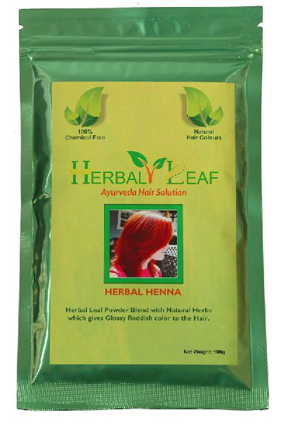 Buy Herbal Henna Leaf Hair Powder From Rekhi Exports Bareilly