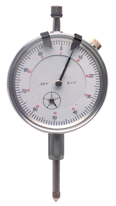 1 Total Range - 0-100 Dial Reading - AGD 2 Dial Indicator