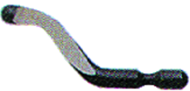 B10 Deburring Blade - HSS - For Steel; Plastic Aluminum
