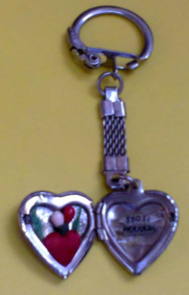 Special Open Heart Keychains