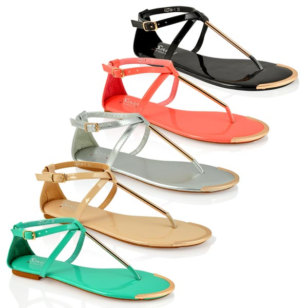 9217a9860ba217 Buy Sleek Ladies Fancy Sandal from Anand Footwear