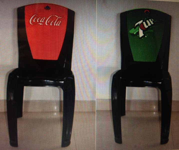 Injection Molded Plastic Chair (Promotional Chairs)