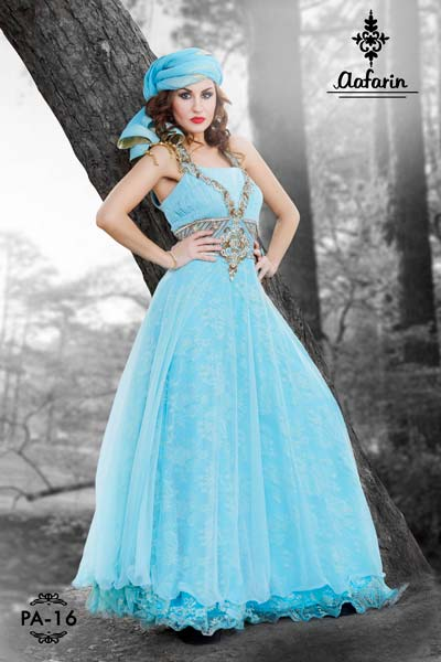 b192704491 Partywear Gown Manufacturer in New Delhi Delhi India by MRA Trading ...