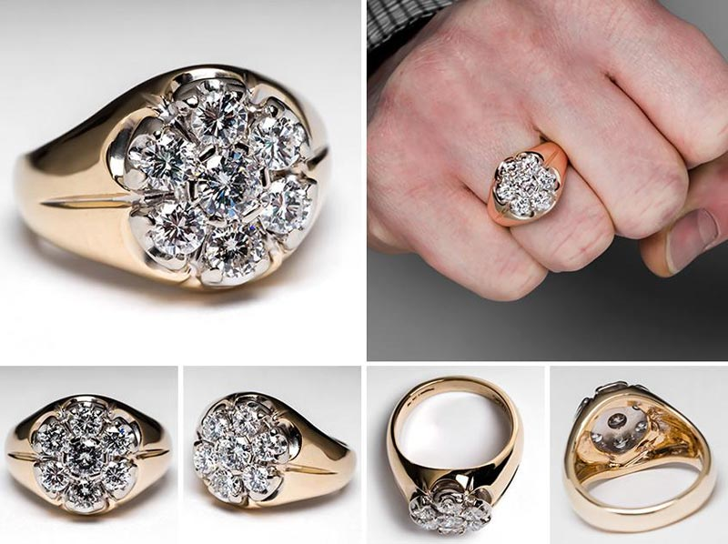 Wedding rings for men india