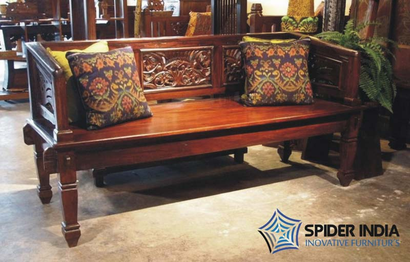 Antique Wooden Carved Sofa Manufacturer In Jodhpur