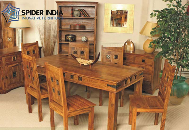 Wooden Dining Table Set Manufacturer in Jodhpur Rajasthan India by ...