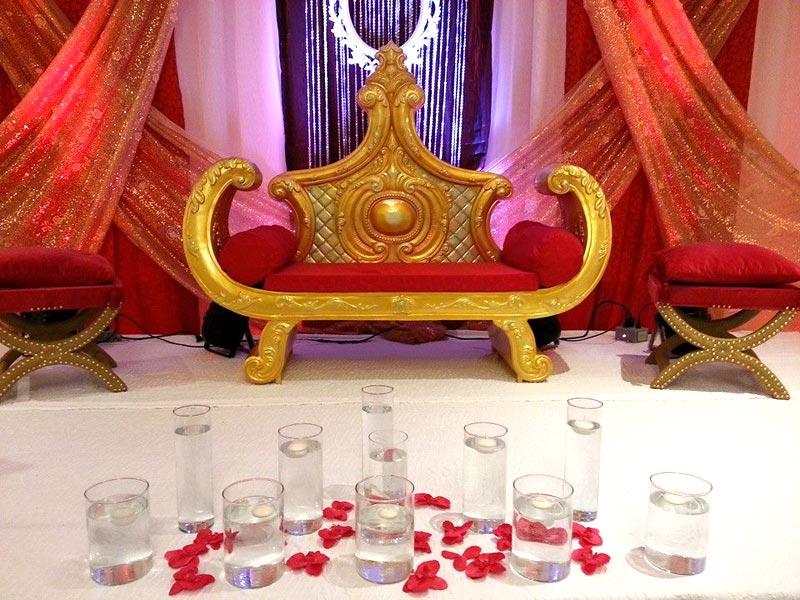 Services wedding stage decoration in quebec offered by for American wedding stage decoration