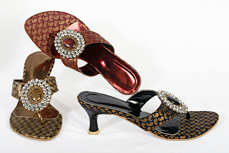 6d63a03bb8e Buy Ladies Fancy Sandals from TORAL Collection