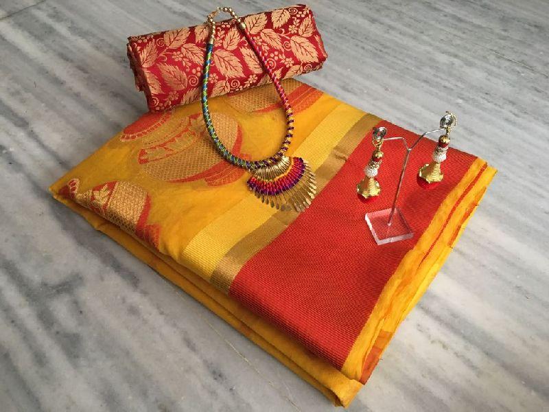 Chanderi Cotton Silk Suit (ACM01)