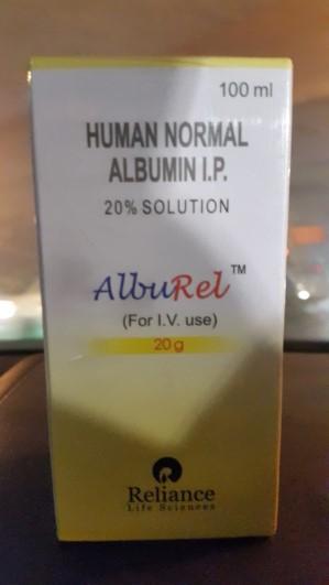 Human Albumin 20 % (45678765245678)