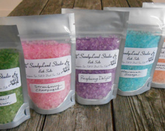vanilla sky bath salt (34567)