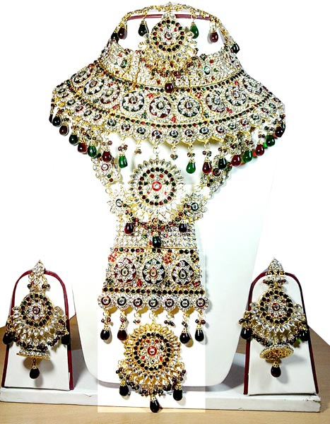 Indian Bridal Gold Plated Wedding Jewelry Manufacturer in Uttar