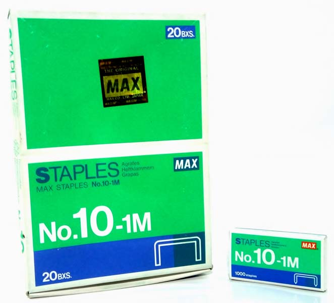 Max Staples Pin No 10 1m Made In Japan Manufacturer In