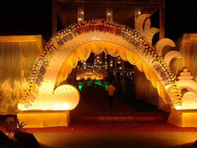 Wedding Gate Decoration & Services - Wedding Gate Decoration in Offered by Royal Tent ...