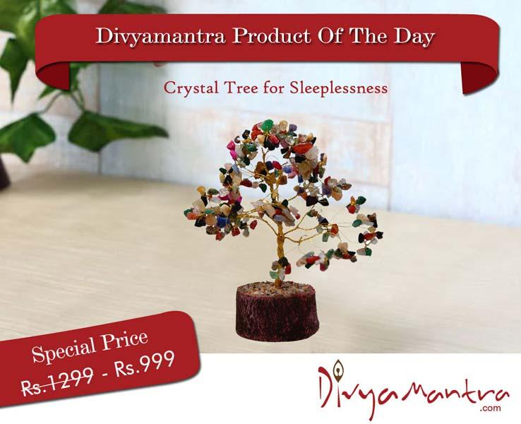 Crystal Tree for Sleeplessness (DVYM0000196)