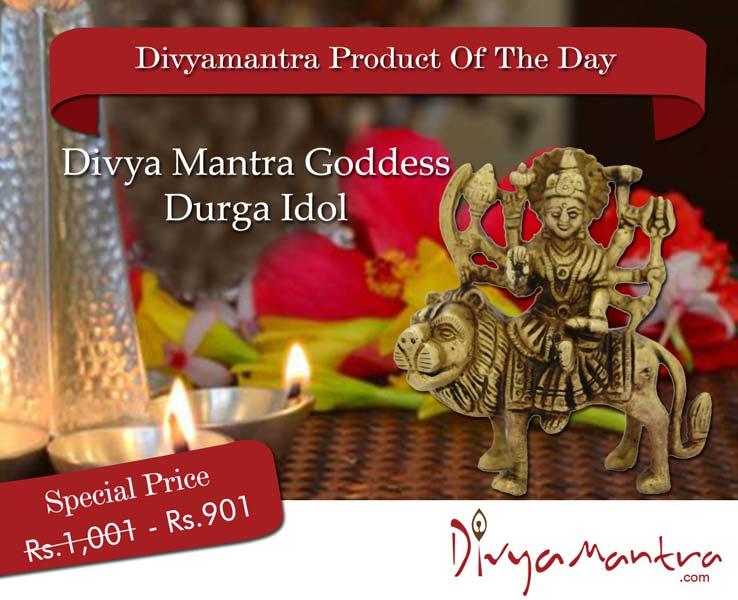 Divya Mantra Goddess Durga Idol (DVYM0003268)