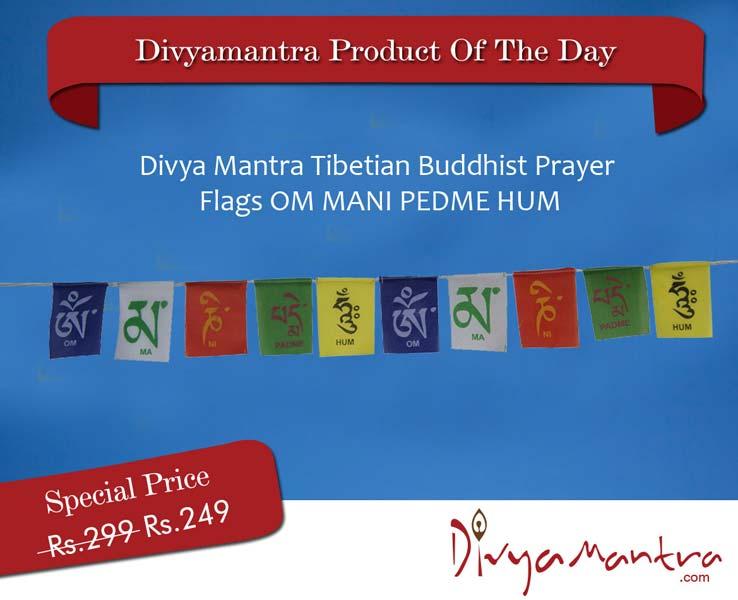 Tibetian Buddhist Prayer Flags (DVYM0003481)