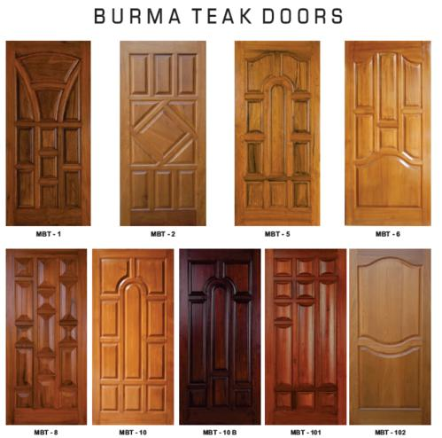 Buy burma teak wood door from h k timbers pvt ltd for Take door designs