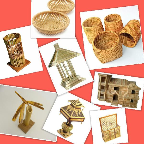 Bamboo Handicrafts Manufacturer In Nepal By Jamuna Incense Bamboo