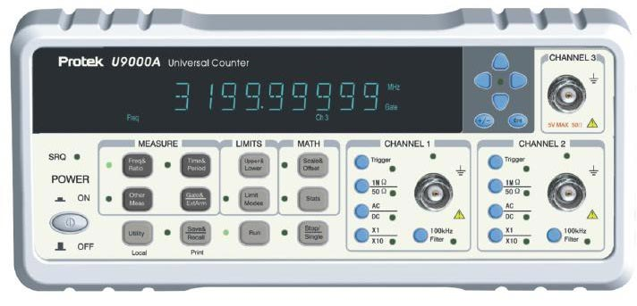 Universal Frequency Counter (universal frequency)