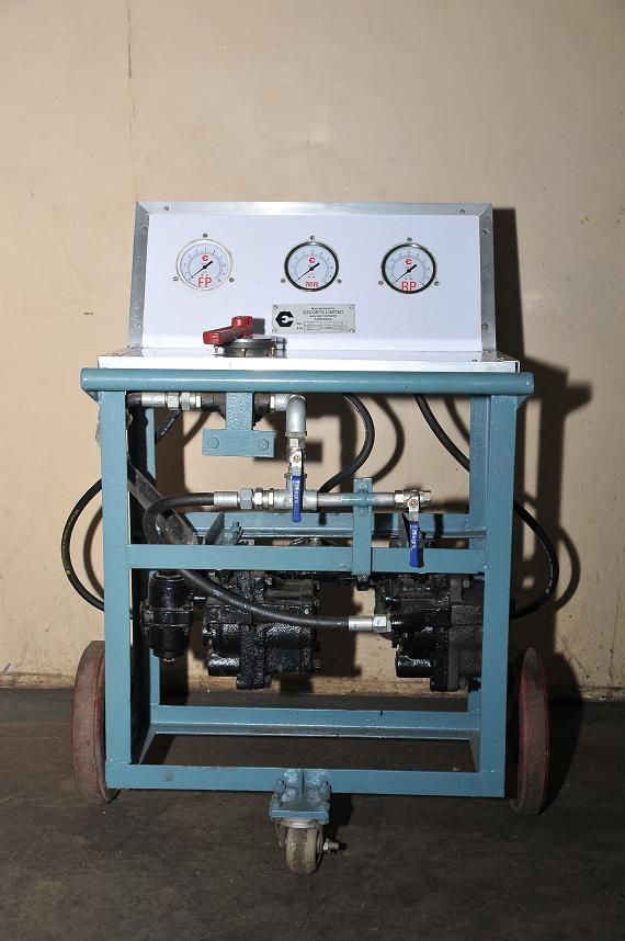Hydraulic Test Equipment : Hydraulic test benches manufacturer from