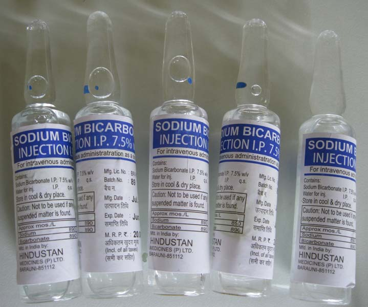 Sodium Bicarbonate Injection Manufacturer & Exporters from