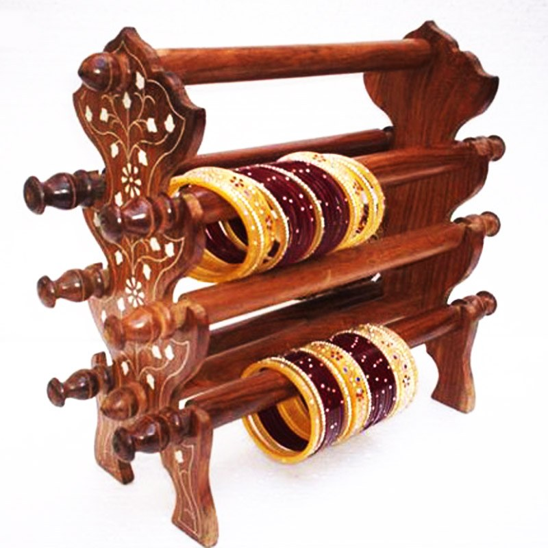 Wooden Bangle Stand Manufacturer in Uttar Pradesh India by The ...