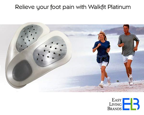 Buy Walkfit Platinum Orthotic Shoe Insoles from Easy Living