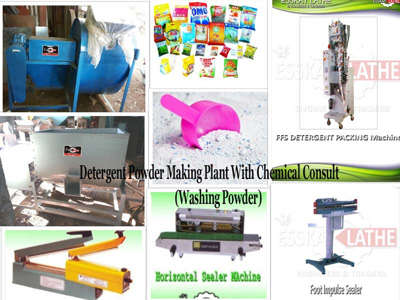 Detergent Powder Making Plant Manufacturer & Exporters from