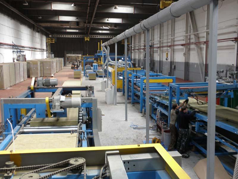 Mineral-wool Sandwich Panel Machine Manufacturer, Korea
