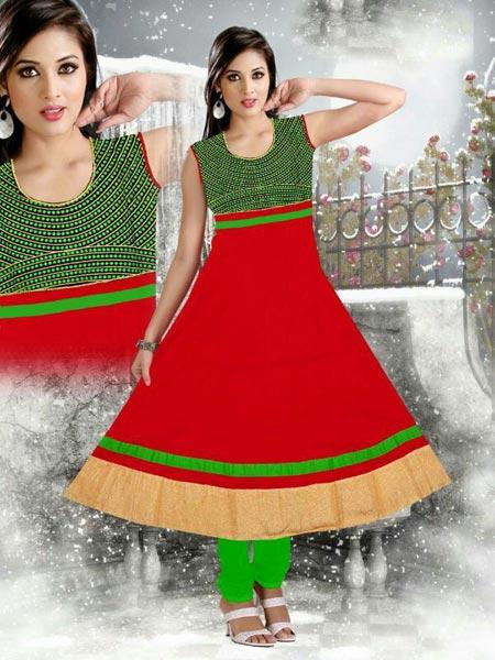Ladies Cotton Anarkali Suits