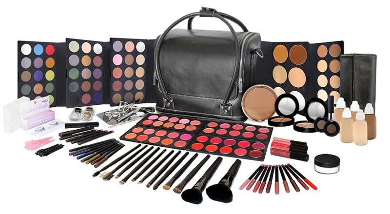 full makeup kit list. makeup kit. complete full kit list