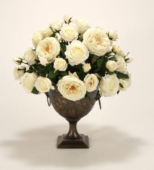 Cream White Ivory Roses