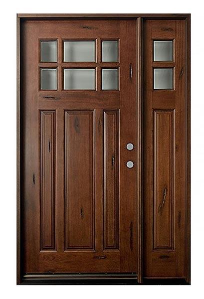 Mahogany Wood Doors