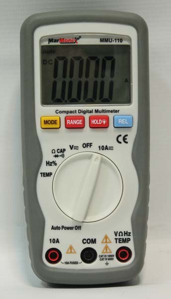 Marmonix Compact Digital Multimeter (MMU-110)