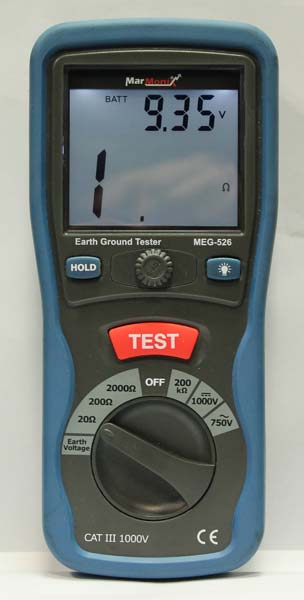 Marmonix Earth Ground Resistance Tester (MEG-526)